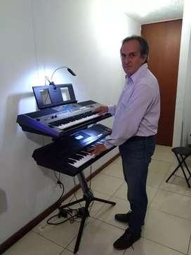 Amenizo reuniones con teclados