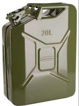 Bidon de lata para Combustible 20lts