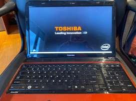Portátil Toshiba satellite L655