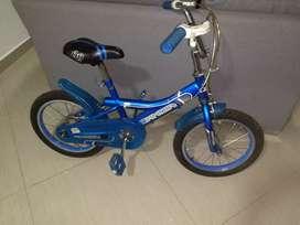 Bicicletas usadas rin 16 buen estado