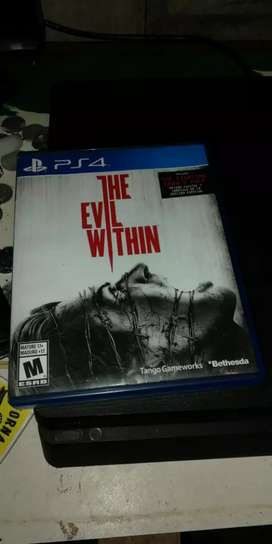 Se vende The evil within ps4