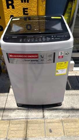 Lavadora LG D29 libras inverter