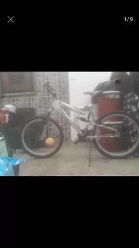 Vendo Bicicleta Monark usada montañera