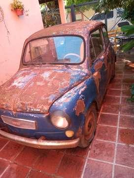 FIAT 600 MODELO 69 PARA MEJORAR O REPUESTOS