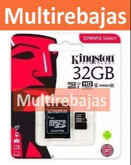 32 GB Tarjeta De Memoria Micro Sd Kingston