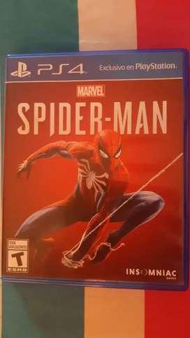 Juego Spiderman Original ps4