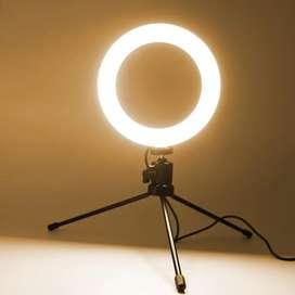 ARO LED mesa 16cm con tripode y 3 tonos