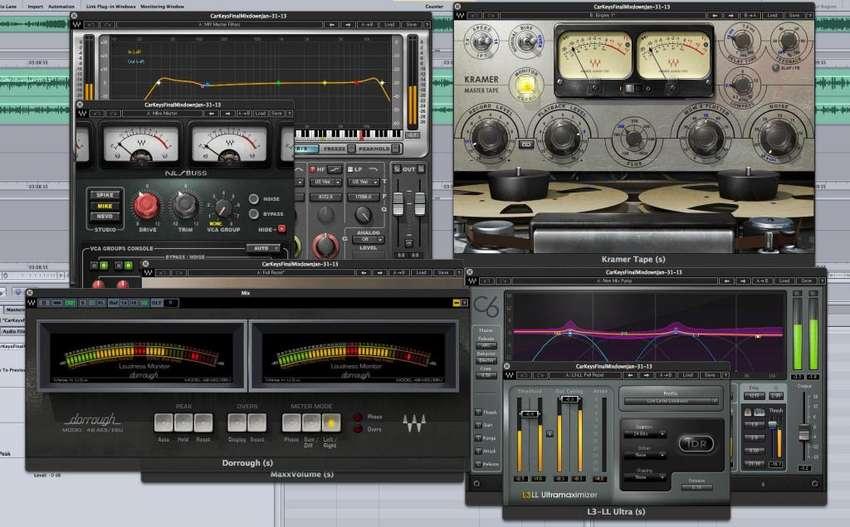 Waves Mercury Vst Audio Akai Plugins Maudio Mezcla Mastering