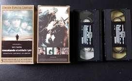 Película VHS Rescatando al Soldado Ryan