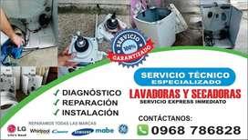 REPARACIÓN  MANTENIMIENTO DE LAVADORAS Y SECADORAS