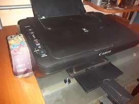 Impresora scaner  con circuito de tinta