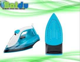 Plancha De Ropa a Vapor Black Decker- Irbd200 Azul - 1200 Watts