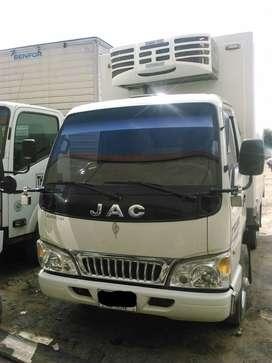 JAC 2014 Furgón con thermoking, 2300 kg