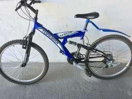 Bici R24 Mtb Topmega Spread Super Bike Doble Suspensión