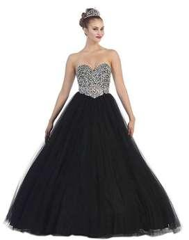 Alquiler de vestido color negro para quince años en itagui -69-9 ll $ 400.000