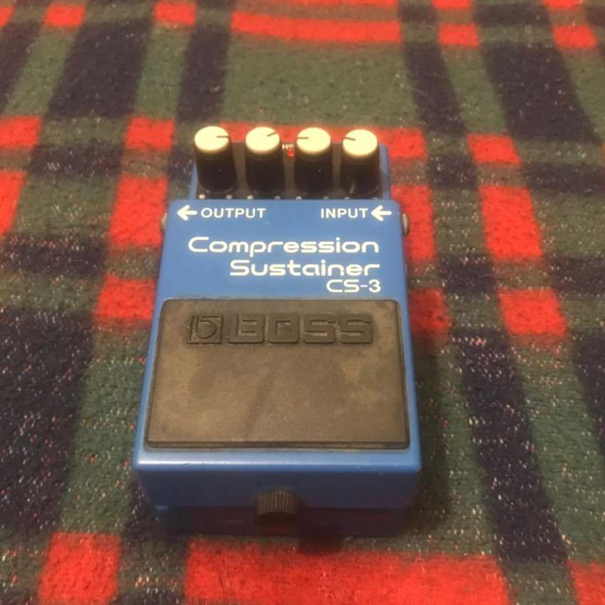 Pedal Boss Compression Sustainer Cs3 0