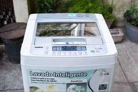 Lavarropas LG Turbo Drum T8000TE 8kg de Carga Superior en Excelente Estado