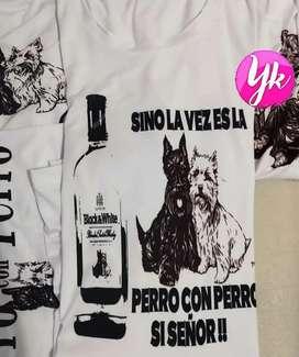 T-shirt basic Personalizados UNISEX