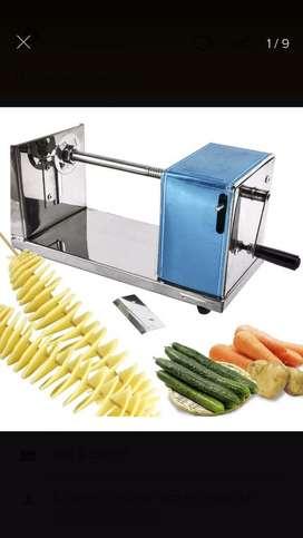 Maquina para hacer papas en espiral
