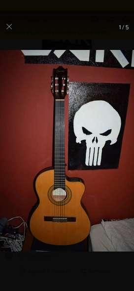 Guitarra ibañez electroacustica GA5TEC-AM