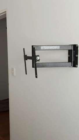 Nesesito instalador de rack para tv con moto psra trabajar todo lima