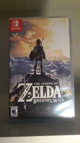 Zelda Breth Of the Wild Nintendo Switch
