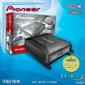 Amplificador De Carro Pioneer 1600 Wts. *4 Canales*
