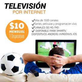 Television Por Internet. Para Internet De 3, 5 Y 10mbps