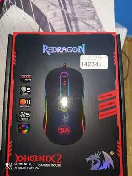 Vendo mouse gamer redragon phoenix muy poco uso