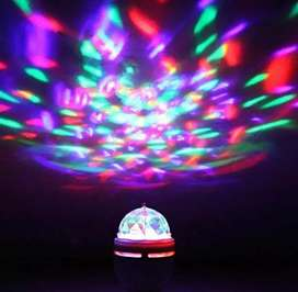 Bombillo rotatorio de colores tipo discoteca o luces navidad