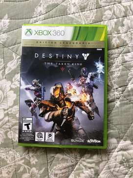 juego D E S T I N Y para xbox 360