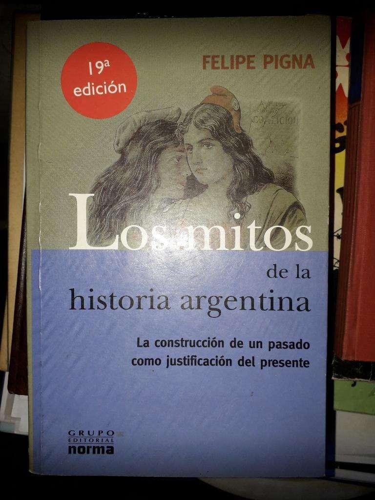 Libro Mitos de La Historia Argentina 0