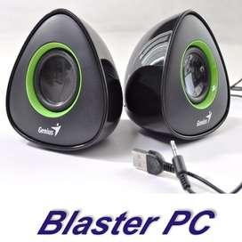 Parlantes Pc Genius Sp-u150x 4wts Usb Zona Alto Rosario BLASTER PC