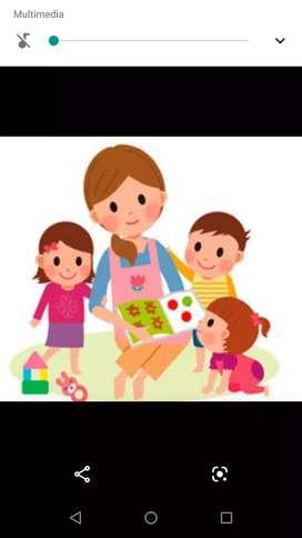 Cuido niños desde mi casa con experiencia y muy buena actitud en compartir