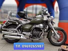 Ranger 250-4, tipo Harley Importadora CHIMASA OROMOTO. MONICA