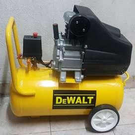 Compresor de aire DeWalt de 50 lt, 120 psi súper oferta