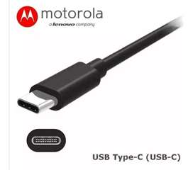 Cable Original Tipo C Motorola G8, G8 Play, G8 Plus, G8 Power, One Macro Hyper
