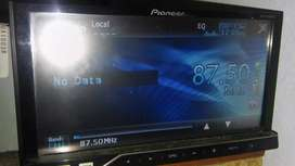 estereo pioner pantalla tactil usb auxiliar. Entrada de tarjeta de memoria . tv - avh - DVD y CD mp3