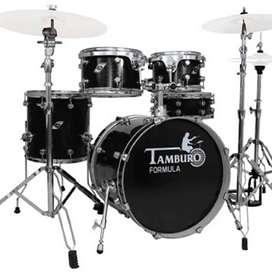 Bateria Tamburo TB FORMULA22SBK Music Box Colombia 5 piezas