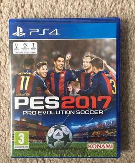 PES 2017 PS4 + Option File Completo