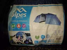 carpa Alpes 8 personas