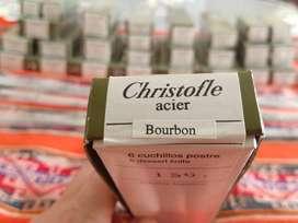 VENDO set De Cubiertos Christofle Acier Bourbon 127 Piezas. NUEVO EN CAJA