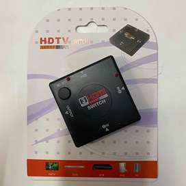Switch Multiplicador Hdmi 3 Entradas Hub Hd 1080p Tv Pc Ps4