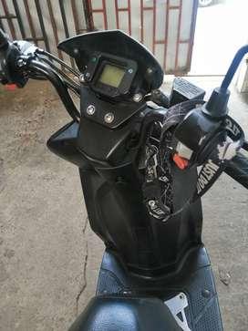 Motocicleta automática