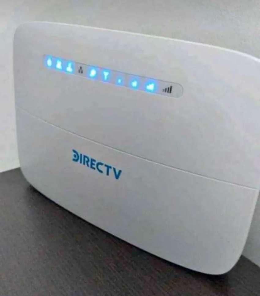 Internet autoinstalable + televisión satelital
