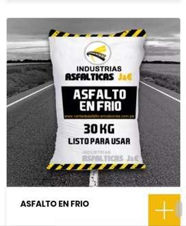 /asfalto en frio/ x sacos x m3/