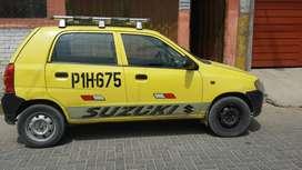 Con permiso para taxi disperso