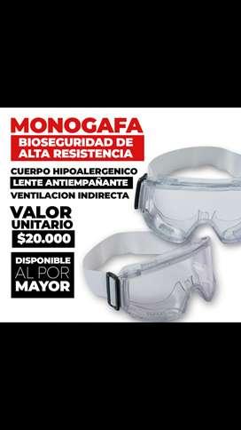 Monogafas  blancas