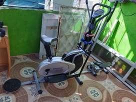 Bicicleta Elíptica 10en1 Escalador, Pesas Twister Discos - NEGOCIABLE