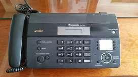 De oportunidad se vende Fax marca Panasonic
